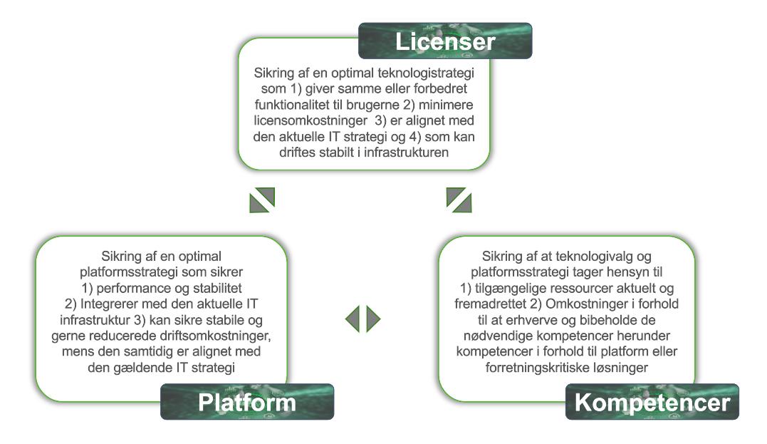 BIWise, TCO Optimering - Licenser, Kompetencer, Platform